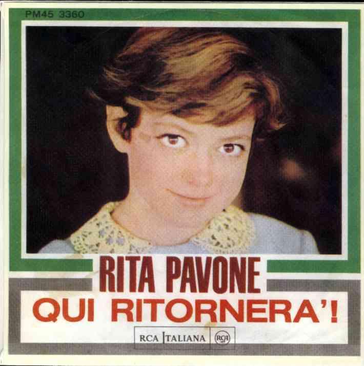Rita Pavone Il Geghege Qui Ritornera